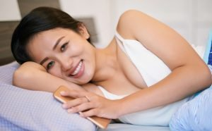Dirty questions to ask a girl: Cuddling in bed